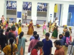Dancers at India Fest.